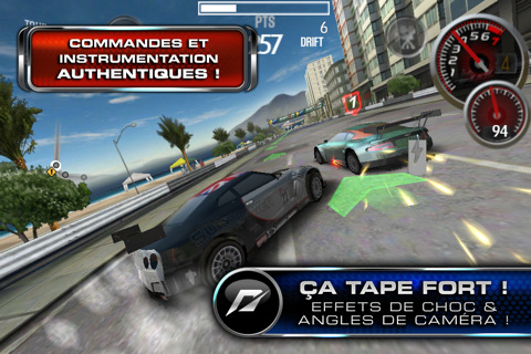 Need for Speed SHIFT 2 Unleashed iphone Electronics Arts nous gâte aussi : 9 jeux à 0,79€